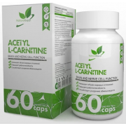NATURALSUPP  ACETYL L-CARNITINE 60 КАПС