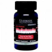Melatonin 3 мг    60 kaps. (Ultimate Nutrition)