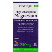 Magnesium High Absorption 60 жев таб (Natrol)